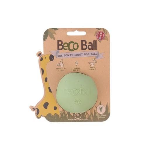 Beco Ball Dog Toy Dog Toy, Green, Medium