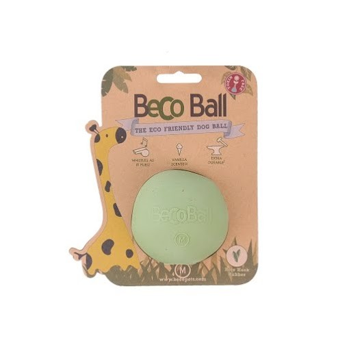Beco Ball Dog Toy Dog Toy, Green, Small