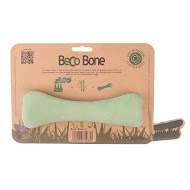 Beco Bone Dog Toy, Green, Small