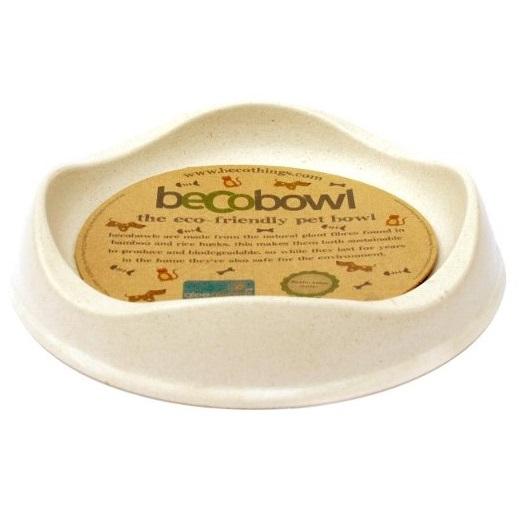 Beco Cat Bowl, Natural, 6.6-in