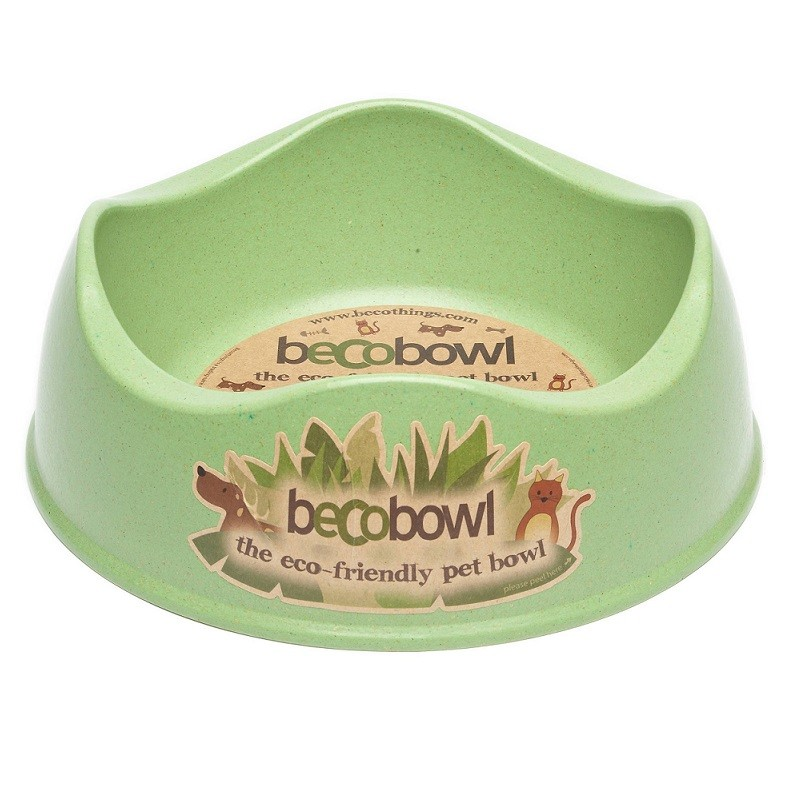 Beco Dog & Cat Bowl, Green, X-Small