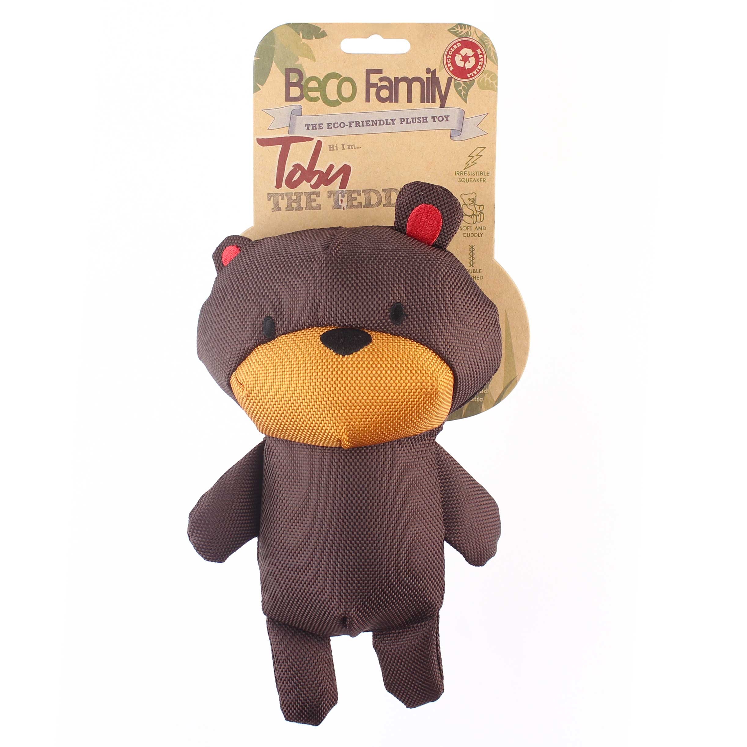 Beco Plush Teddy Dog Toy