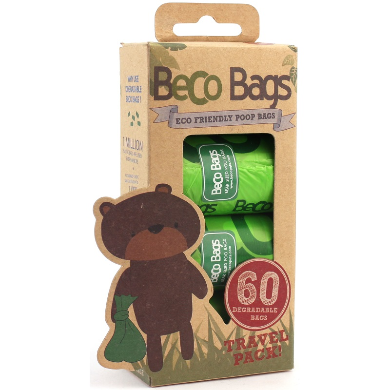 Beco Poop Bags Refill Pack, 120-Count
