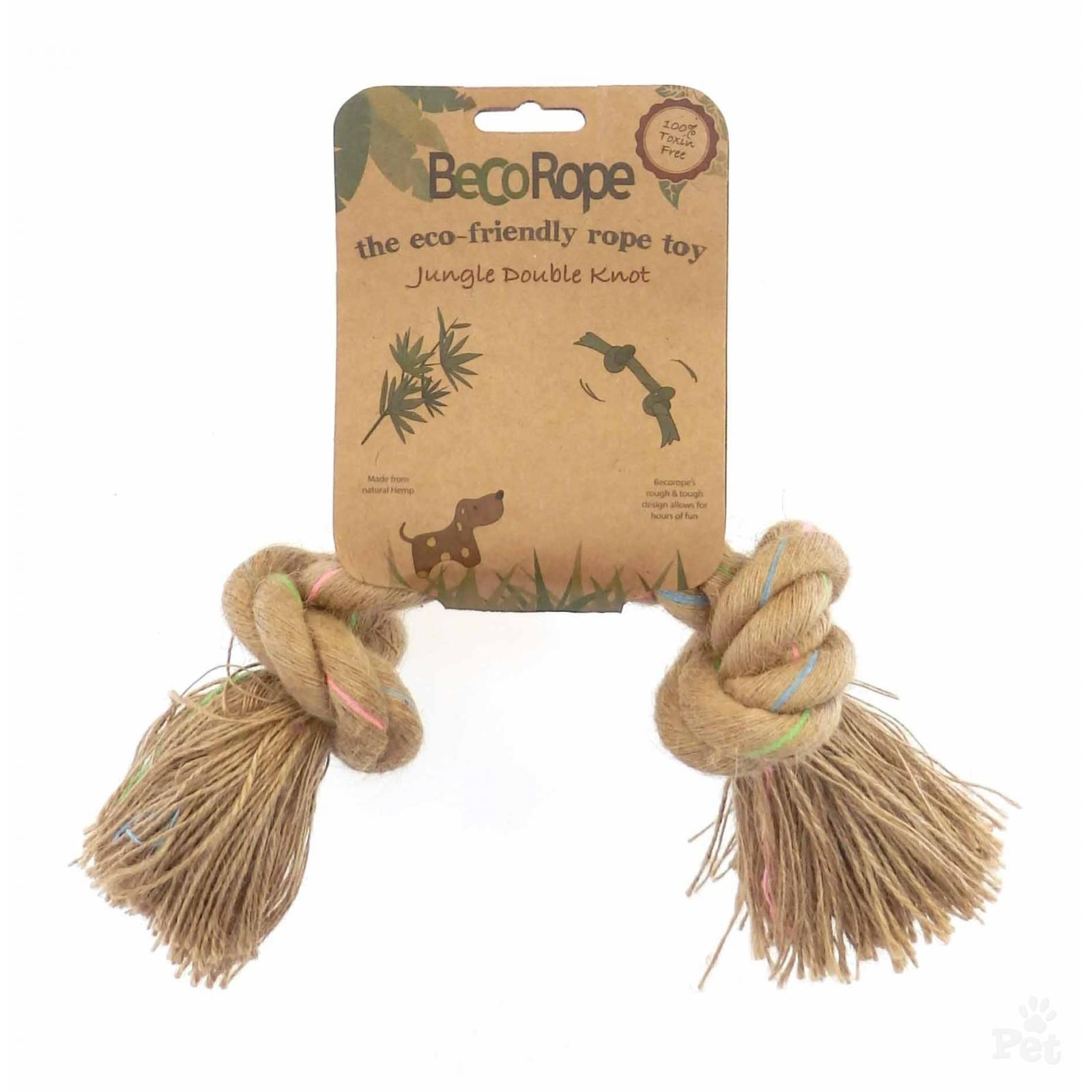Beco Rope Jungle DBL Knot Dog Toy, Medium