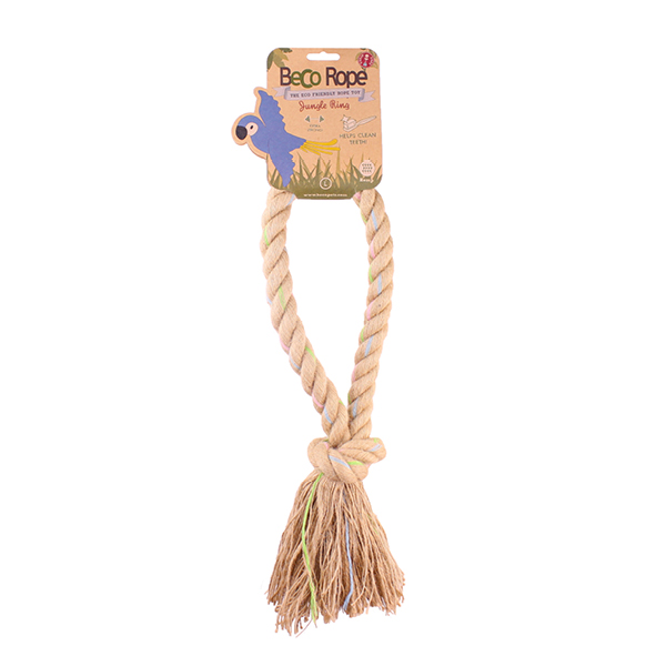 Beco Rope Jungle Ring Dog Toy, Small