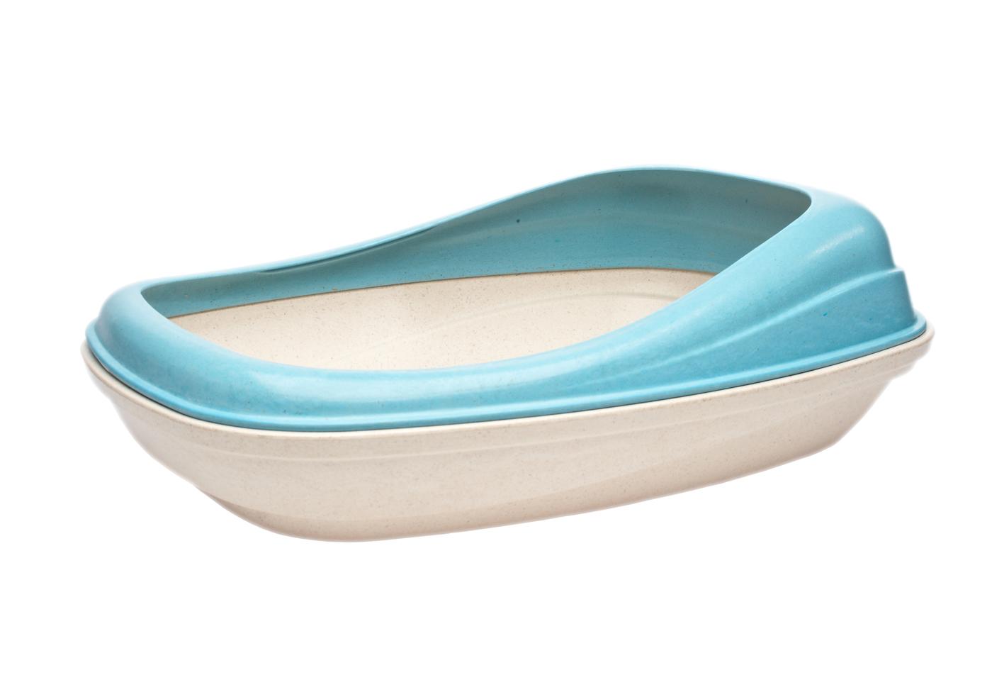 Beco Tray Cat Litter Pan, Blue
