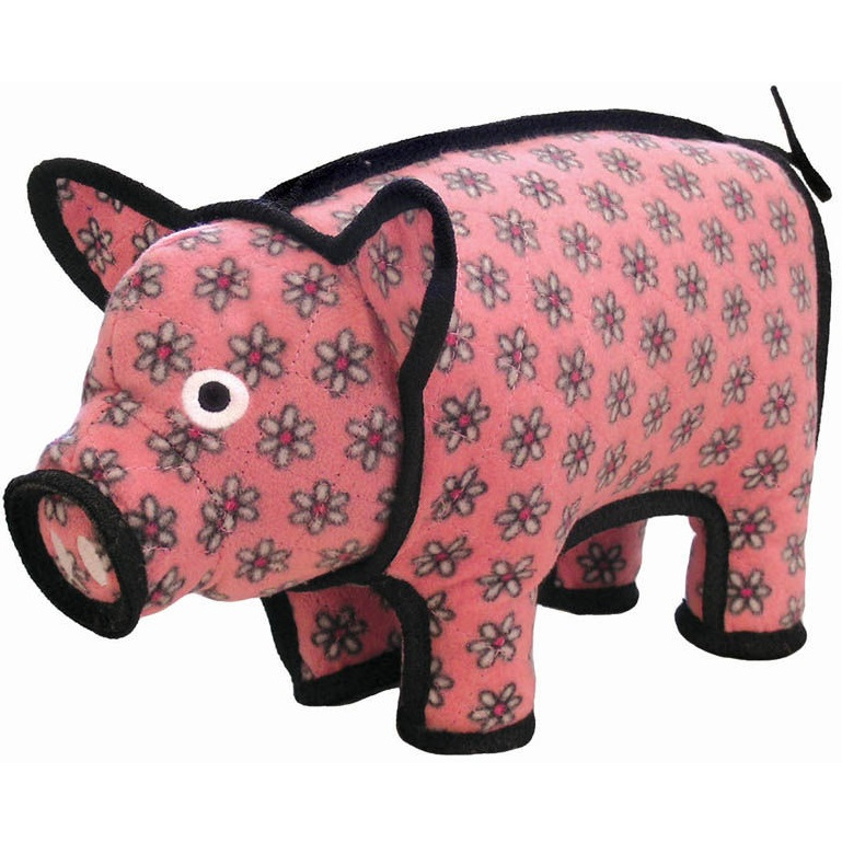 Tuffy's Barnyard Pig Dog Toy