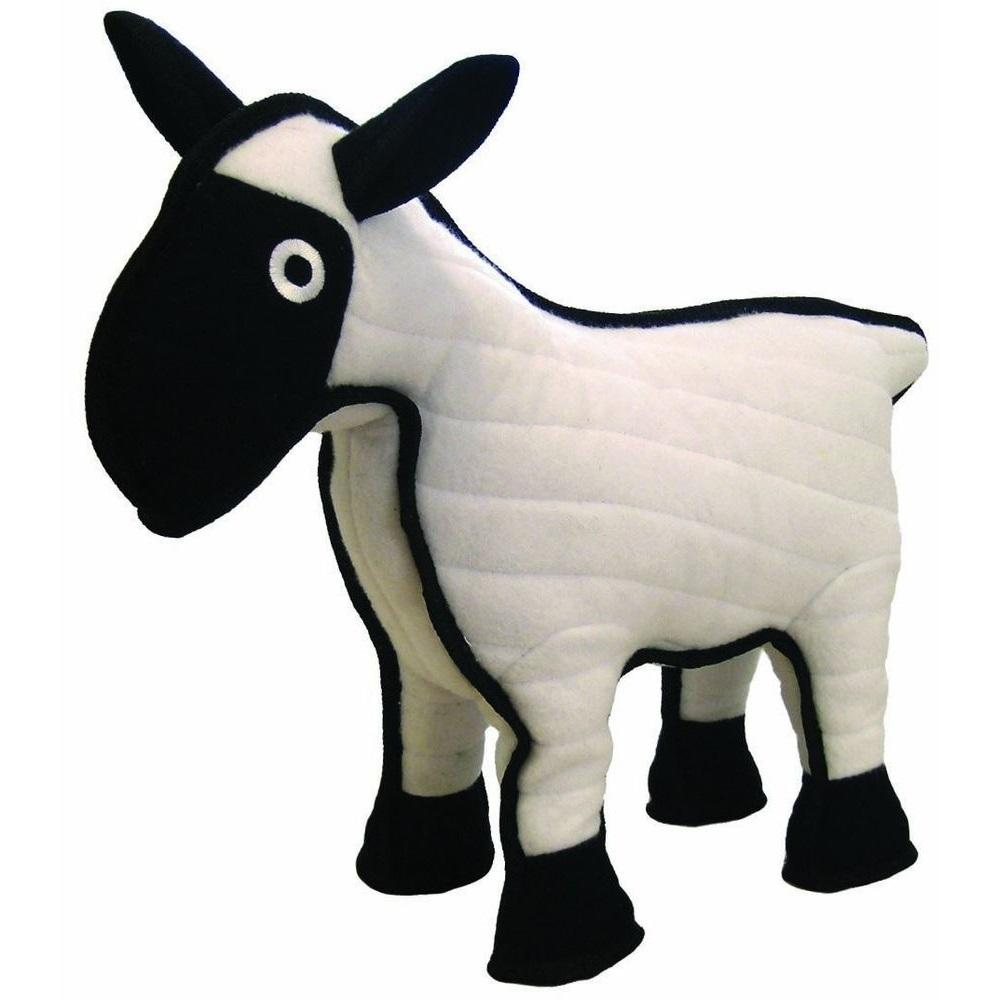 Tuffy's Barnyard Sheep Dog Toy Image