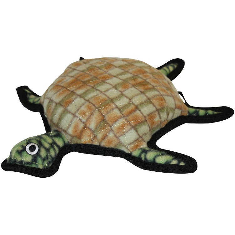 Tuffy's Ocean Creature Turtle Burtle Dog Toy Image