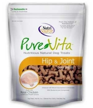 PureVita Hip And Joint Dog Treats, 6-oz (Size: 6-oz) Image