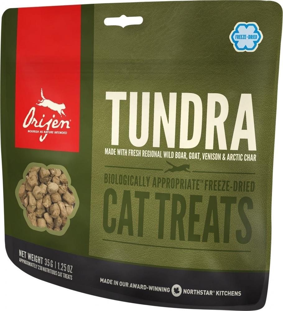 ORIJEN Grain Free Freeze Dried Tundra Cat Treats, 1.25-oz
