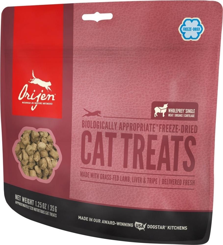 ORIJEN Freeze Dried Grass Fed Lamb Cat Treats, 1.25-oz