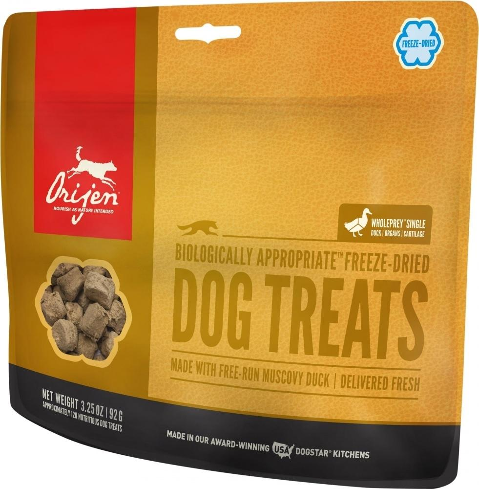 ORIJEN Freeze Dried Free Run Duck Dog Treats, 1.5-oz