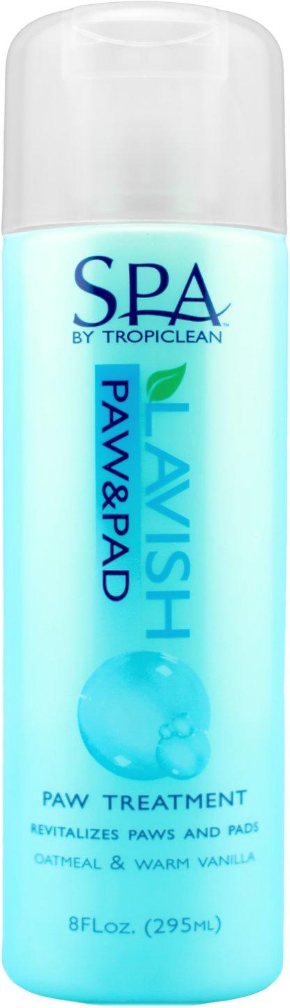 TropiClean Spa Paw & Pad Treatment, 8-oz bottle Image