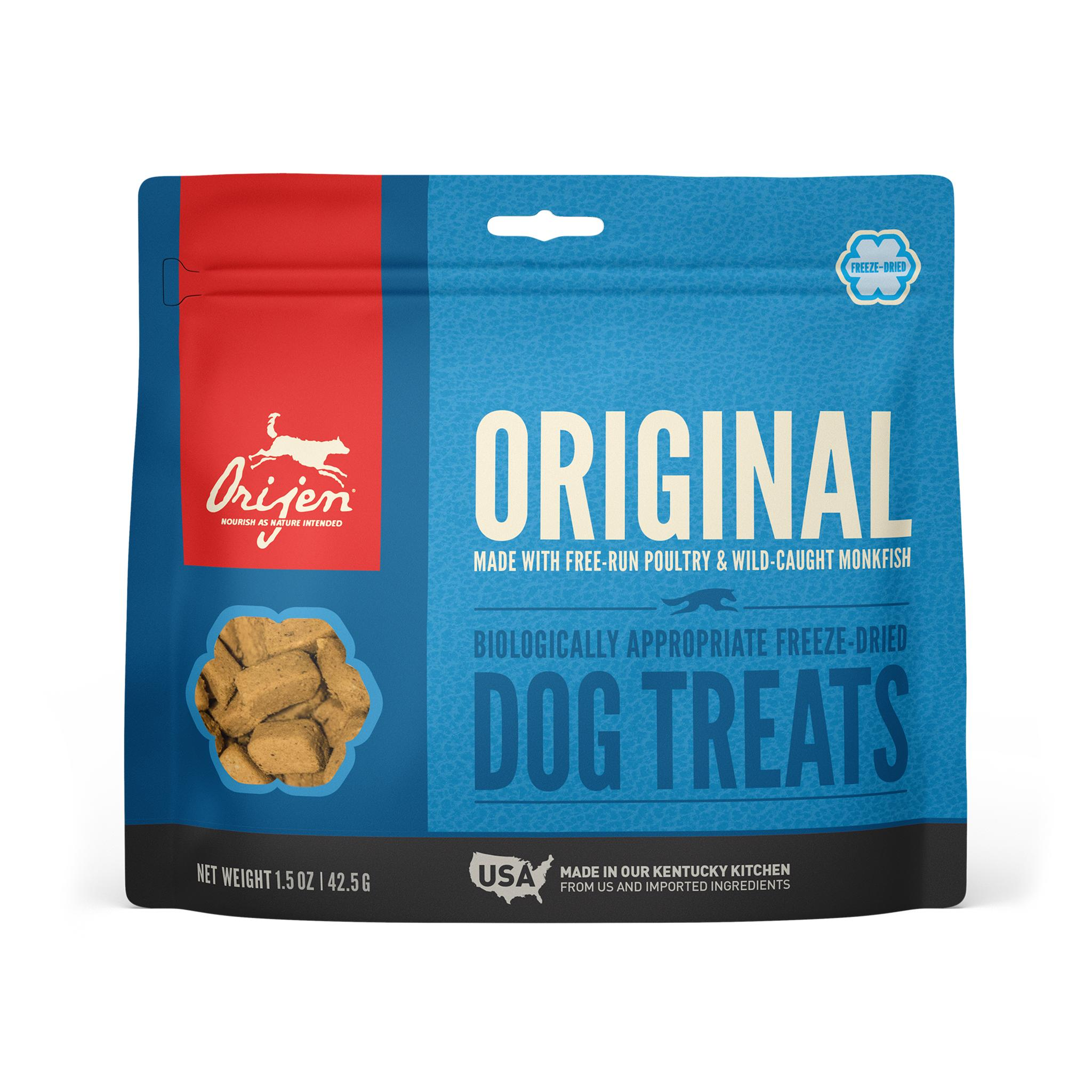 ORIJEN Original Grain-Free Freeze-Dried Dog Treats, 1.5-oz
