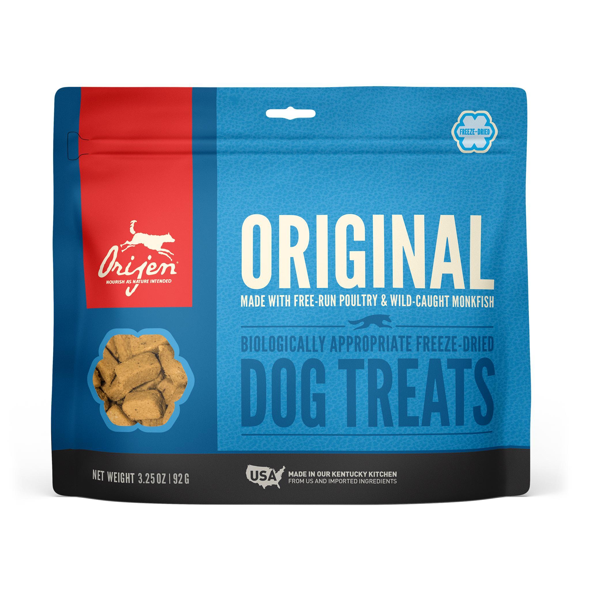 ORIJEN Original Grain-Free Freeze-Dried Dog Treats, 3.25-oz