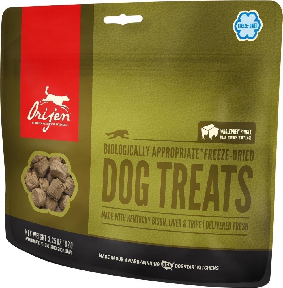 ORIJEN Freeze Dried Kentucky Bison Dog Treats, 1.5-oz