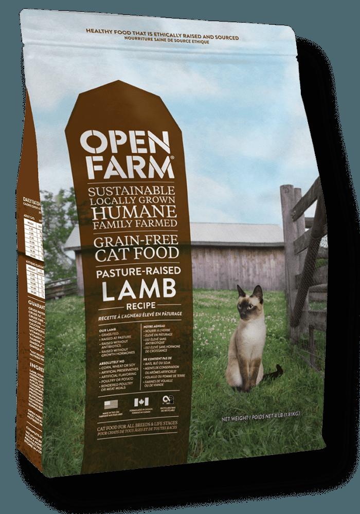 Open Farm Grain-Free Pasture Raised Lamb Recipe Dry Cat Food Image