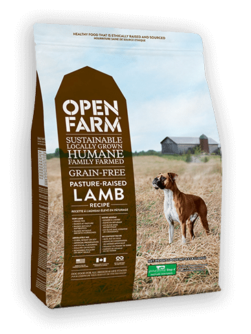 Open Farm Grain-Free Pasture Raised Lamb Recipe Dry Dog Food, 4.5-lb