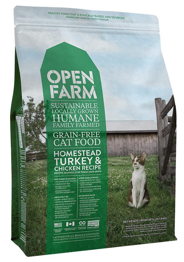 Open Farm Grain-Free Homestead Turkey and Chicken Recipe Dry Cat Food Image