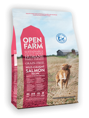 Open Farm Wild-Caught Salmon Recipe Grain-Free Dry Dog Food, 4.5-lb