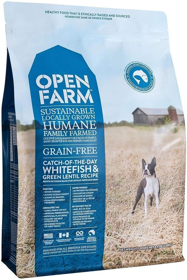 Open Farm Catch-of-the-Season Whitefish Recipe Grain-Free Dry Dog Food, 24-lb