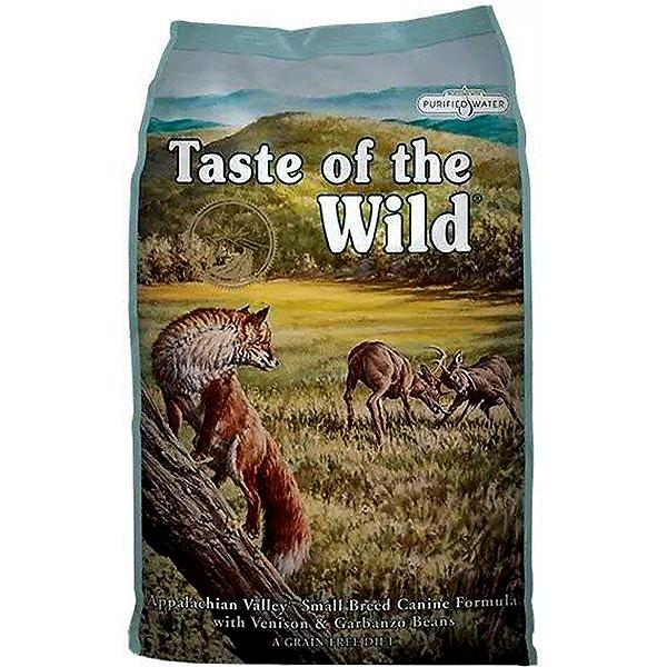 Taste of the Wild Appalachian Valley Small Breed with Venison & Garbanzo Beans Grain-Free Adult Dry Dog Food Image