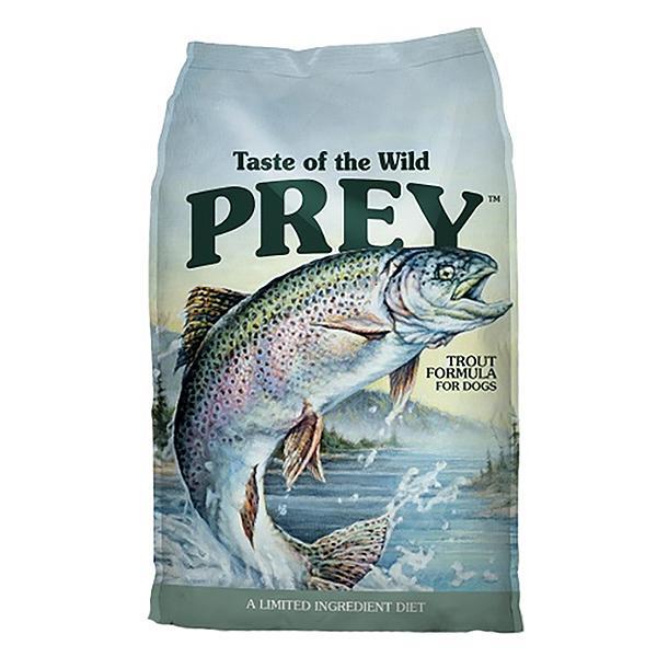 Taste of the Wild Prey Trout Limited Ingredient Formula Grain-Free Dry Dog Food, 25-lb