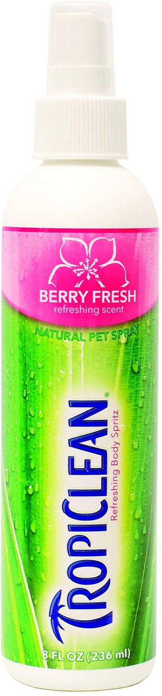 TropiClean Berry Fresh Cologne, 8-oz bottle
