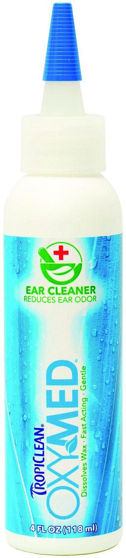 TropiClean Ear Cleaner, 4-oz bottle