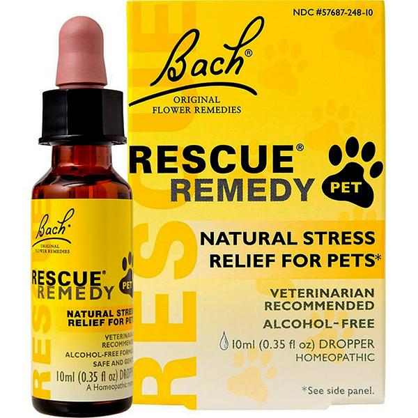 Rescue Remedy Pet Natural Flower Extract Stress-Relief Liquid, 10 mL