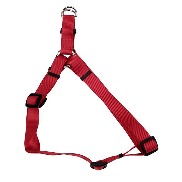 Coastal Comfort Wrap Adjustable Nylon Harness, Red, Small ( 16-in-24-in Girth, 5/8-in Straps )