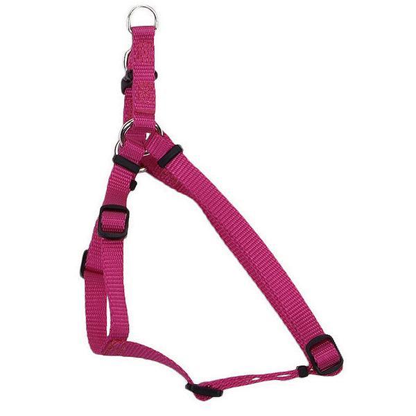 Coastal Comfort Wrap Adjustable Nylon Harness, Pink Flamingo, Medium ( 20-in-30-in Girth, 3/4-in Straps )