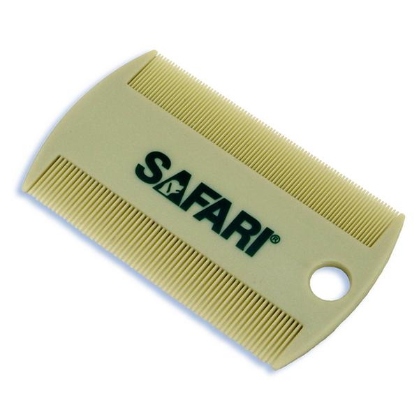 Safari Double-Sided Plastic Cat & Dog Flea Comb, One Size (Size: One Size ) Image