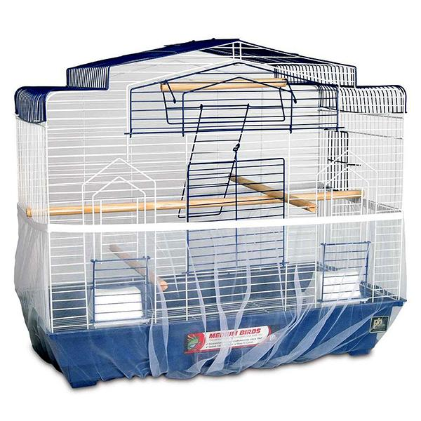 Prevue Pet Products Nylon Mesh Bird Seed Catcher with Elastic Band Image