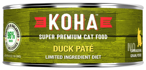 Koha Cat Limited Ingredient Diet Pate Duck Wet Cat Food, 5.5-oz