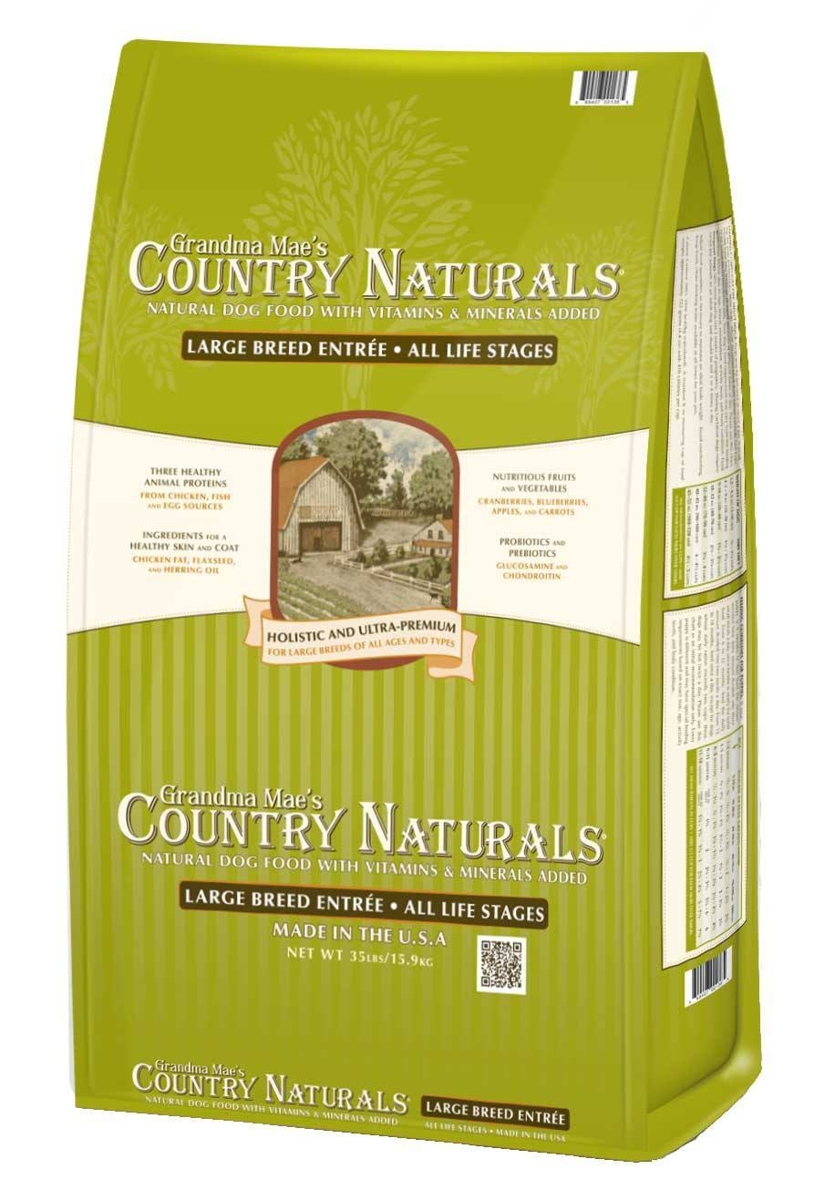 Grandma Mae's Country Naturals Large Breed Dry Dog Food, 35-lb