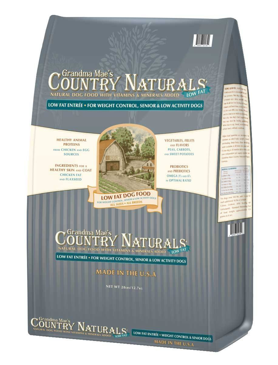 Grandma Mae's Country Naturals Low Fat Formula Dry Dog Food, 14-lb