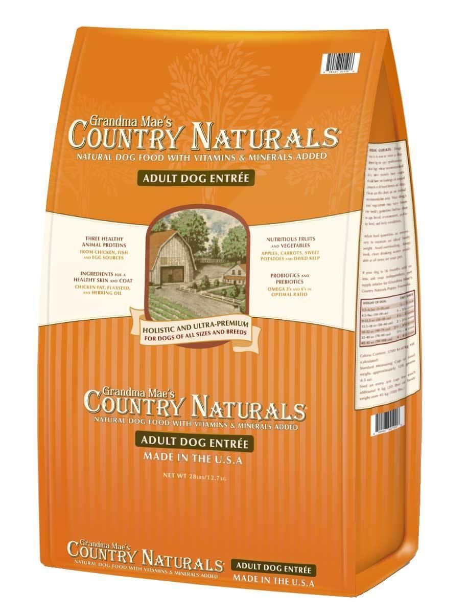Grandma Mae's Country Naturals Adult Entrée Dry Dog Food Image