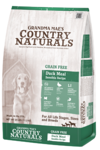 Grandma Mae's Country Naturals Grain-Free Limited Ingredient Duck Dry Dog Food, 4-lb