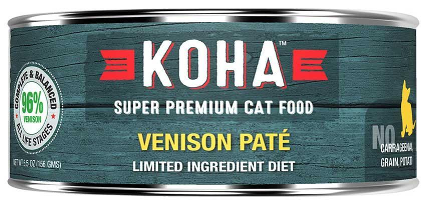 Koha Cat Limited Ingredient Diet Pate Turkey Wet Cat Food, 5.5-oz