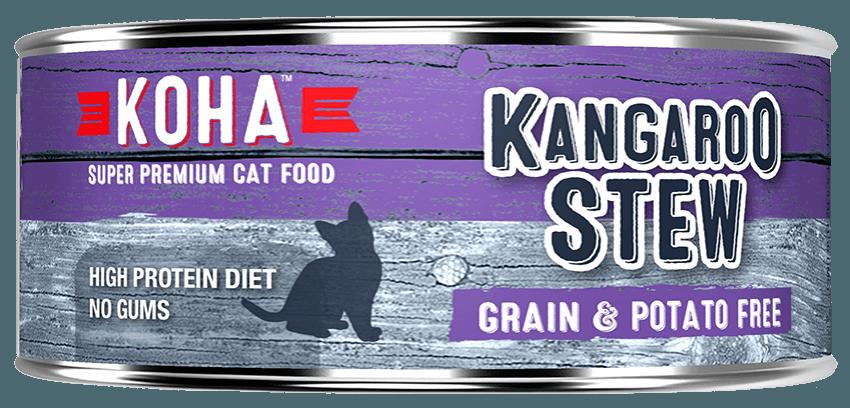 Koha Cat Minimal Ingredient Kangaroo Stew Wet Cat Food, 5.5-oz