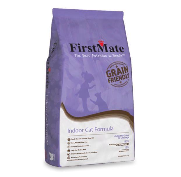 FirstMate Grain Friendly Indoor Cat Food, 13.2-lb