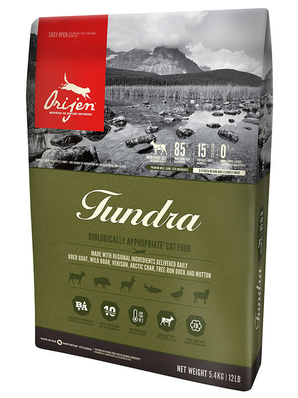 Orijen Tundra Biologically Appropriate Cat Dry Food, 1.8-kg