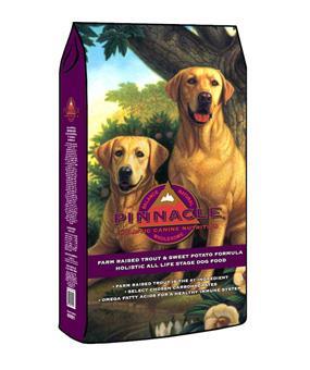 Pinnacle Grain Free Trout and Sweet Potato Formula Dog Food, 4-lbs