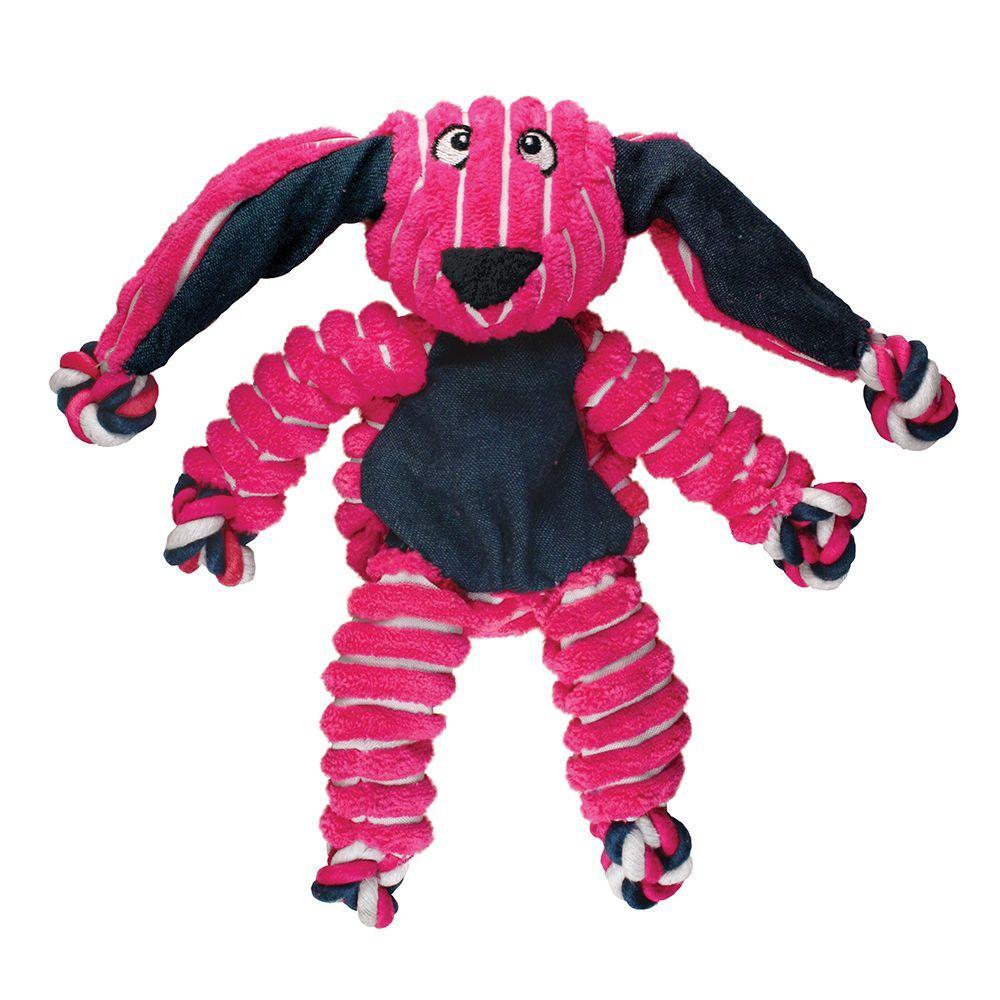 KONG Floppy Knots Bunny Dog Toy, Medium/Large