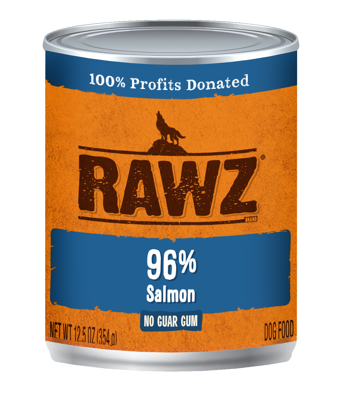 RAWZ Dog 96% Salmon, 12.5-oz