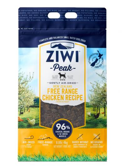 Ziwi Peak Dog Chicken Recipe Grain-Free Air-Dried Dog Food Image