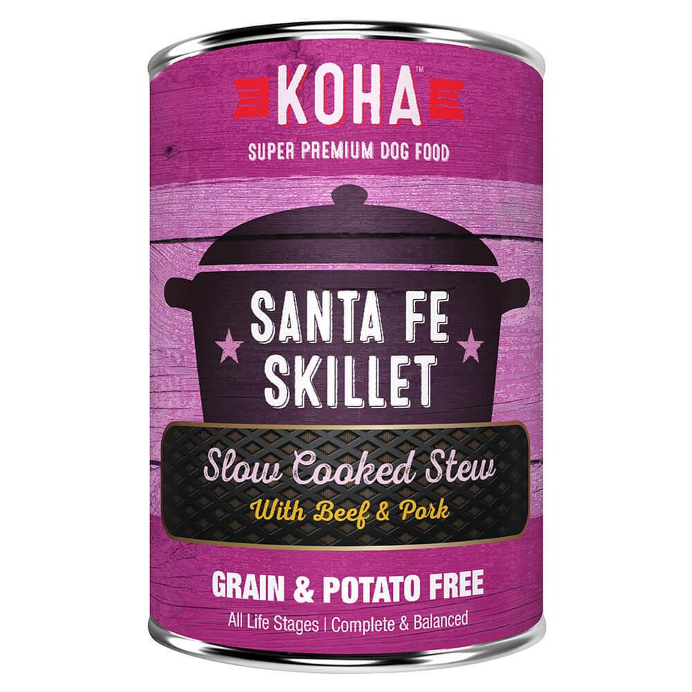 Koha Slow Cooked Stew Santa Fe Skillet Wet Dog Food,12.7-oz