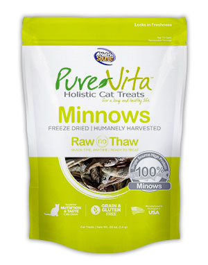 PureVita Freeze Dried Delights for Cats Minnows 0.5-oz